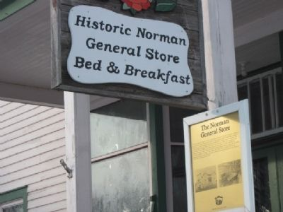 The Norman General Store Marker image. Click for full size.