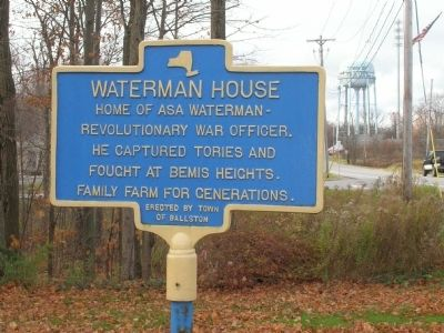 Waterman House Marker image. Click for full size.