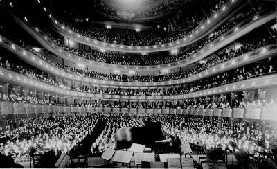 Old Metropolitan Opera House, New York<br>50th Anniversary of Hofman&#39;s U.S. Debut image. Click for full size.
