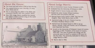 About the House and Judge Morris image. Click for full size.