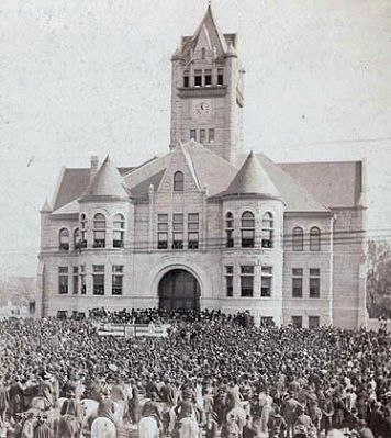 Fulton County Courthouse - - 1896 image. Click for full size.
