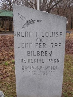 Renah Louise & Jennifer Rae Bilbrey Memorial Park Marker image. Click for full size.