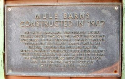 Mule Barns Marker image. Click for full size.