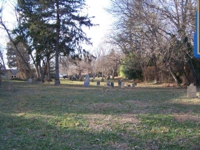 Site of Whatcoat Cemetery image. Click for full size.