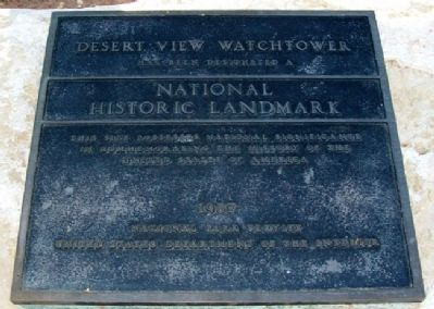 The Watchtower National Historic Landmark Marker image. Click for full size.