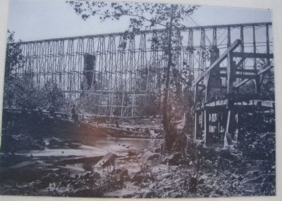 Running Water Creek Bridge image. Click for full size.