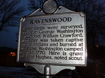 Ravenswood / Ohio River Ford Marker image. Click for full size.