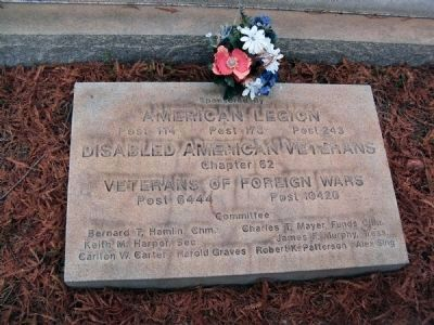 Georgetown County Veteran's Memorial Marker image. Click for full size.