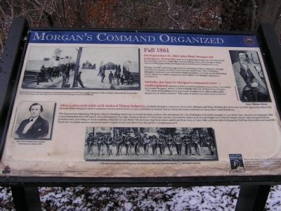 Morgan's Command Organized Marker image. Click for full size.