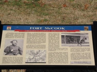 Fort McCook Marker image. Click for full size.