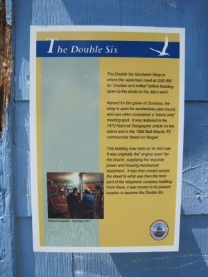 The Double Six Marker image. Click for full size.