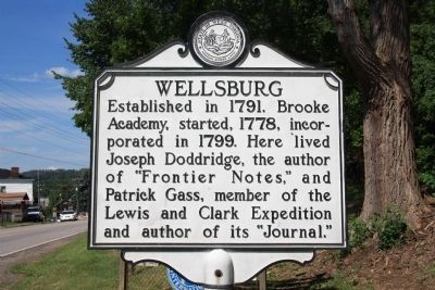 Wellsburg Marker image. Click for full size.