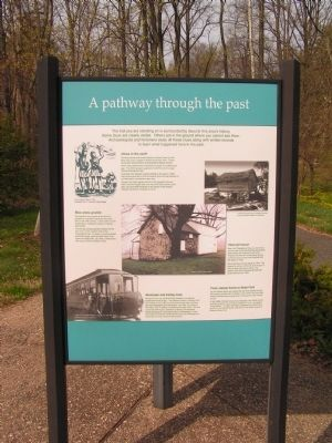 A Pathway through the Past Marker image. Click for full size.