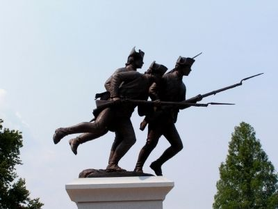 The Delaware Continentals Monument image. Click for full size.