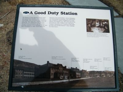 A Good Duty Station Marker image. Click for full size.