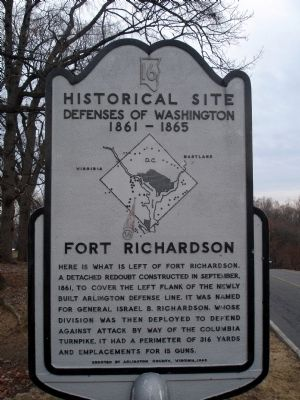 Fort Richardson Marker image. Click for full size.