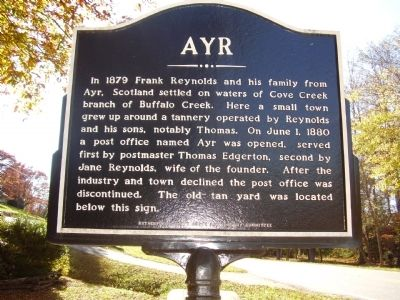 AYR Marker image. Click for full size.