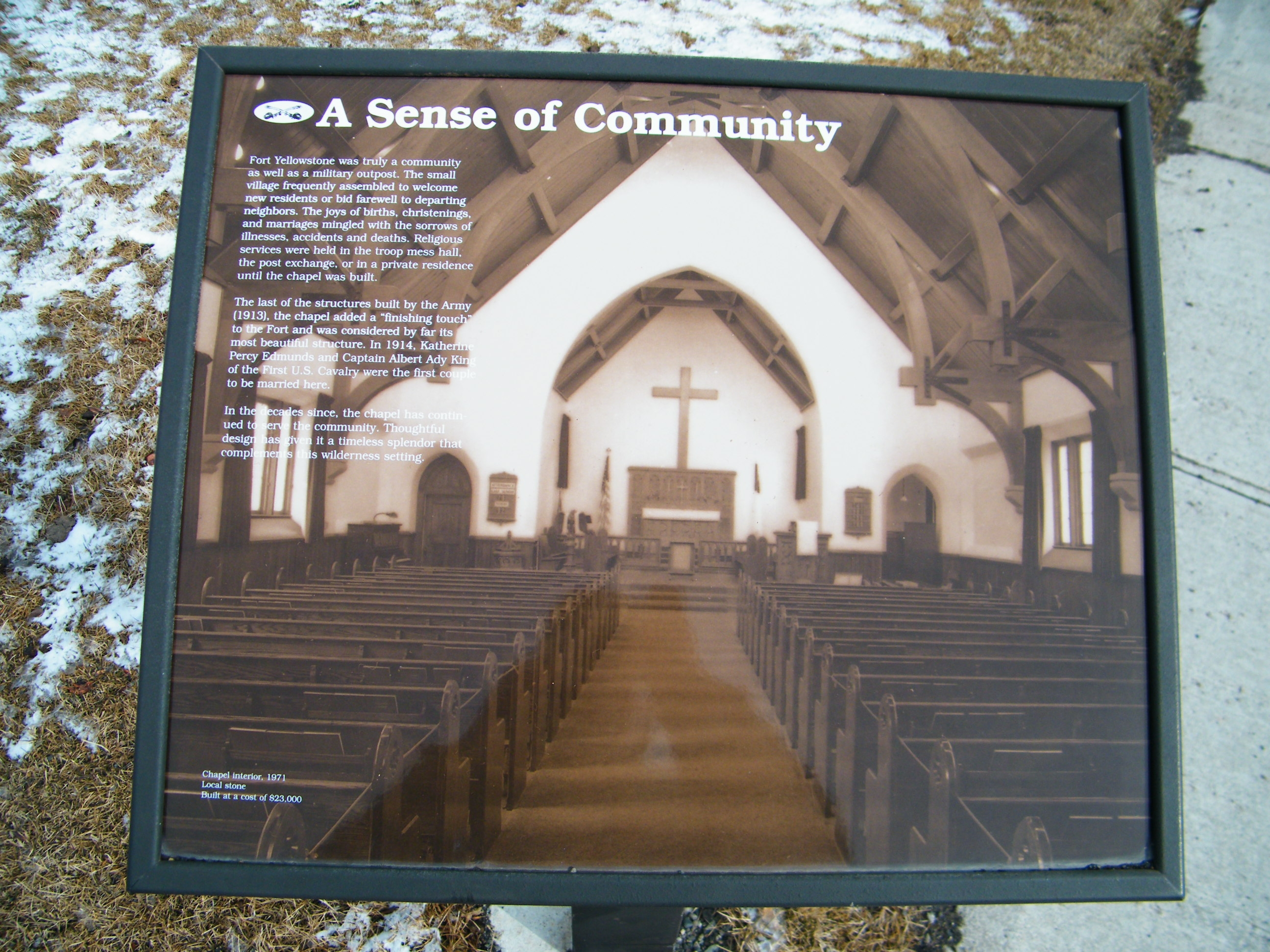 A Sense of Community Marker