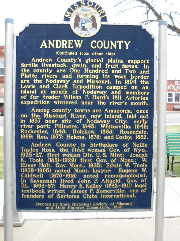 Andrew County Marker