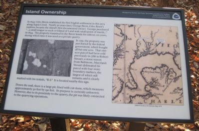 Island Ownership Marker image. Click for full size.