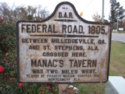 Federal Road, 1805 Marker image. Click for full size.