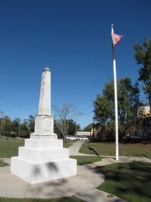 Walton County Confederate Monument image. Click for full size.