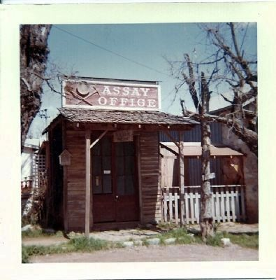 1950's picture of Assay office in Volcano, CA image. Click for full size.