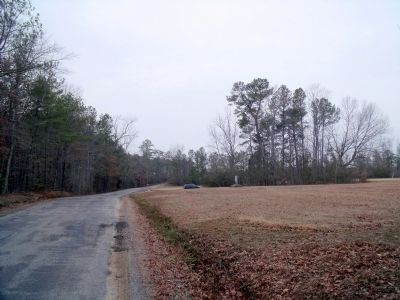 Comans Well Rd & Tyus Ln (facing west) image. Click for full size.