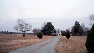 Nearby wartime home of William Nicholas Jarratt image. Click for full size.