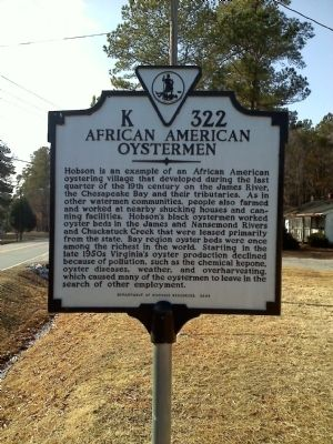 African American Oystermen Marker image. Click for full size.