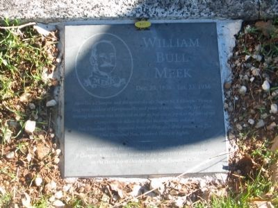 William Bull Meek Marker image. Click for full size.