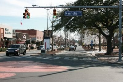 South View Along College Street at Toomers Corner image. Click for full size.