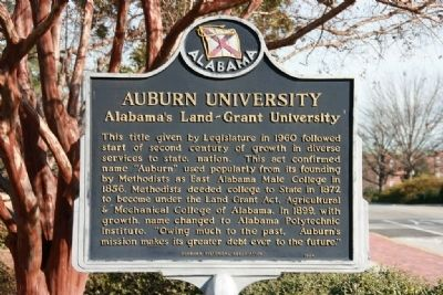 Auburn University Marker image. Click for full size.