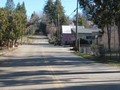 Cleveland Avenue - The Main Street of Camptonville image. Click for full size.