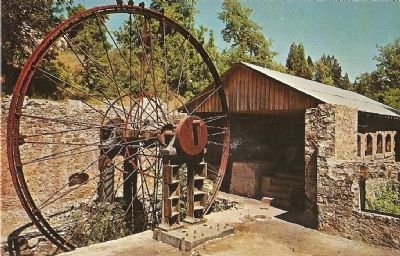 North Star Mine, Grass Valley, Calif. image. Click for full size.