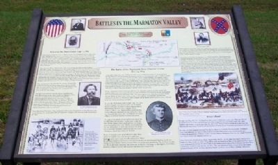Battles in the Marmaton Valley Marker image. Click for full size.