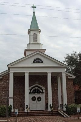 Bluffton United Methodist Church image. Click for full size.