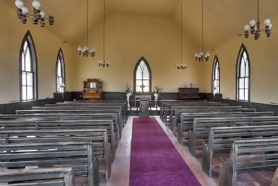 St Paul's M.E. Church Interior image. Click for full size.