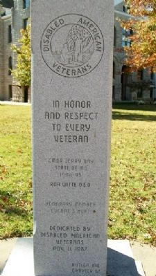 Hurt Chapter 67 D.A.V. Veterans Memorial image. Click for full size.