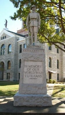 Bates County World War I Memorial image. Click for full size.