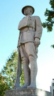 Bates County World War I Memorial Statue image. Click for full size.