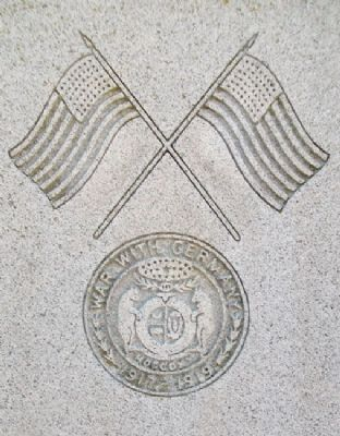 Bates County World War I Memorial Detail image. Click for full size.