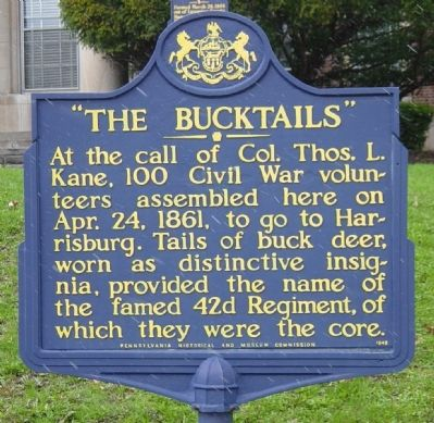 """The Bucktails"" Marker image. Click for full size."
