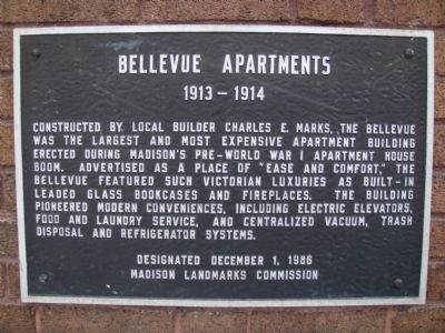 Bellevue Apartments Marker image. Click for full size.