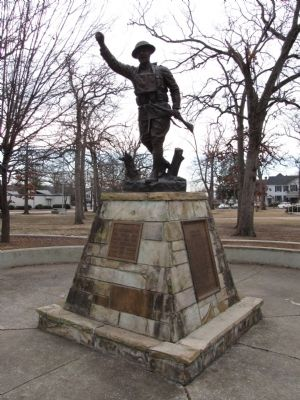 Doughboy Monument image. Click for full size.