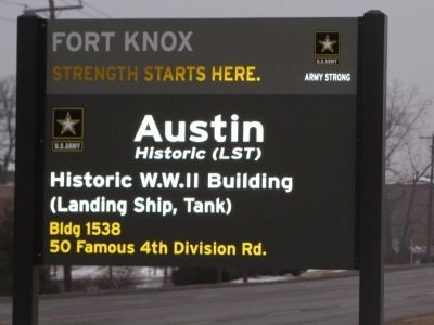 LST Building Marker image. Click for full size.