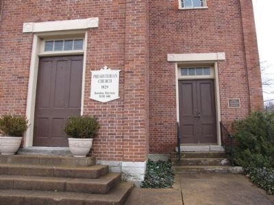 Munfordville Presbyterian Church image. Click for full size.
