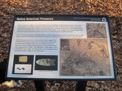 Native American Presence Marker image. Click for full size.