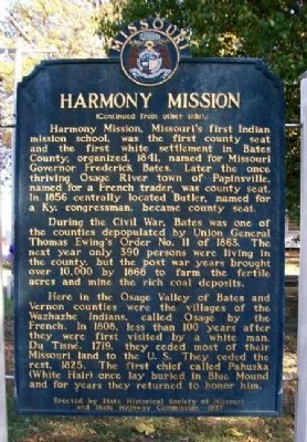Harmony Mission Marker (Back) image. Click for full size.
