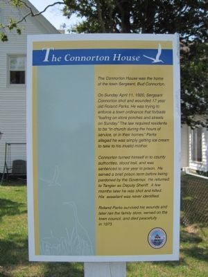 The Connorton House Marker image. Click for full size.